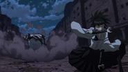 Suzuka redirects Tatsumi's attack