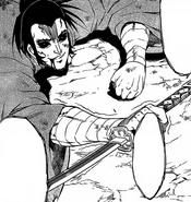 Izou dying