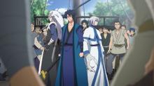 Hak, Kija and Shin-Ah vs. the Awa Pirates