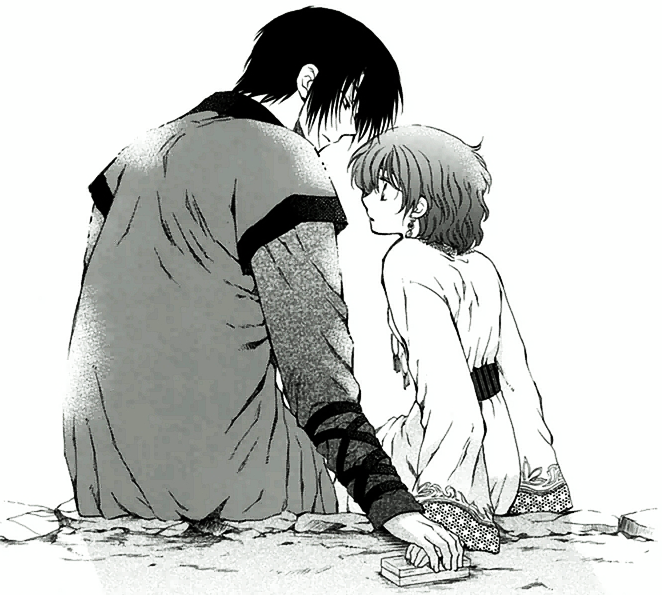 Warriors Don T Cry Summary Chapter 18: Hak And Yona After The Fire Festival.png