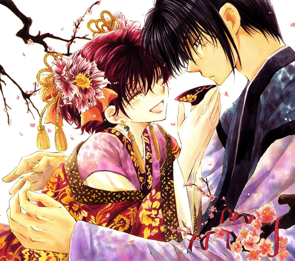 Warriors Of The Dawn Korean Movie Download: Hak And Yona Under The Cherry Blossoms.jpg