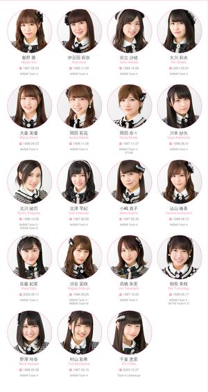 AKB48 Team 4 2017