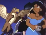 The Mother chased Princess Jasmine