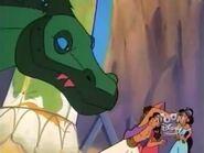 The Dragon Attack Aladdin