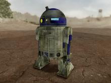 Behind Artoo