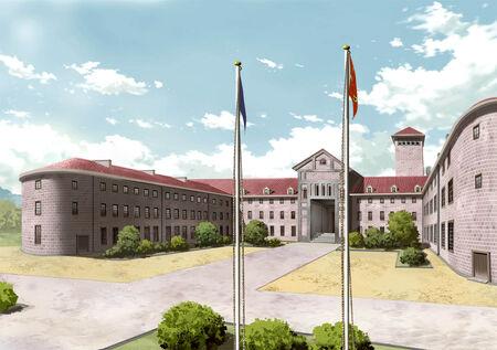 High Level Officer School Front - AN