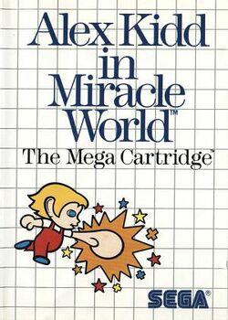 Alex Kidd In Miracle World Box