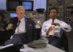 Sgt. Matt Fox on left