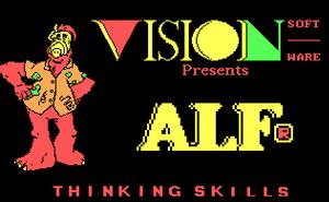 Thinking Skills-Title Screen