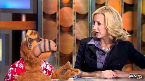 ALF on Good Morning America - Totally Awesome 80s Week