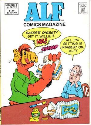 ALF Comics Magazine Digest 1