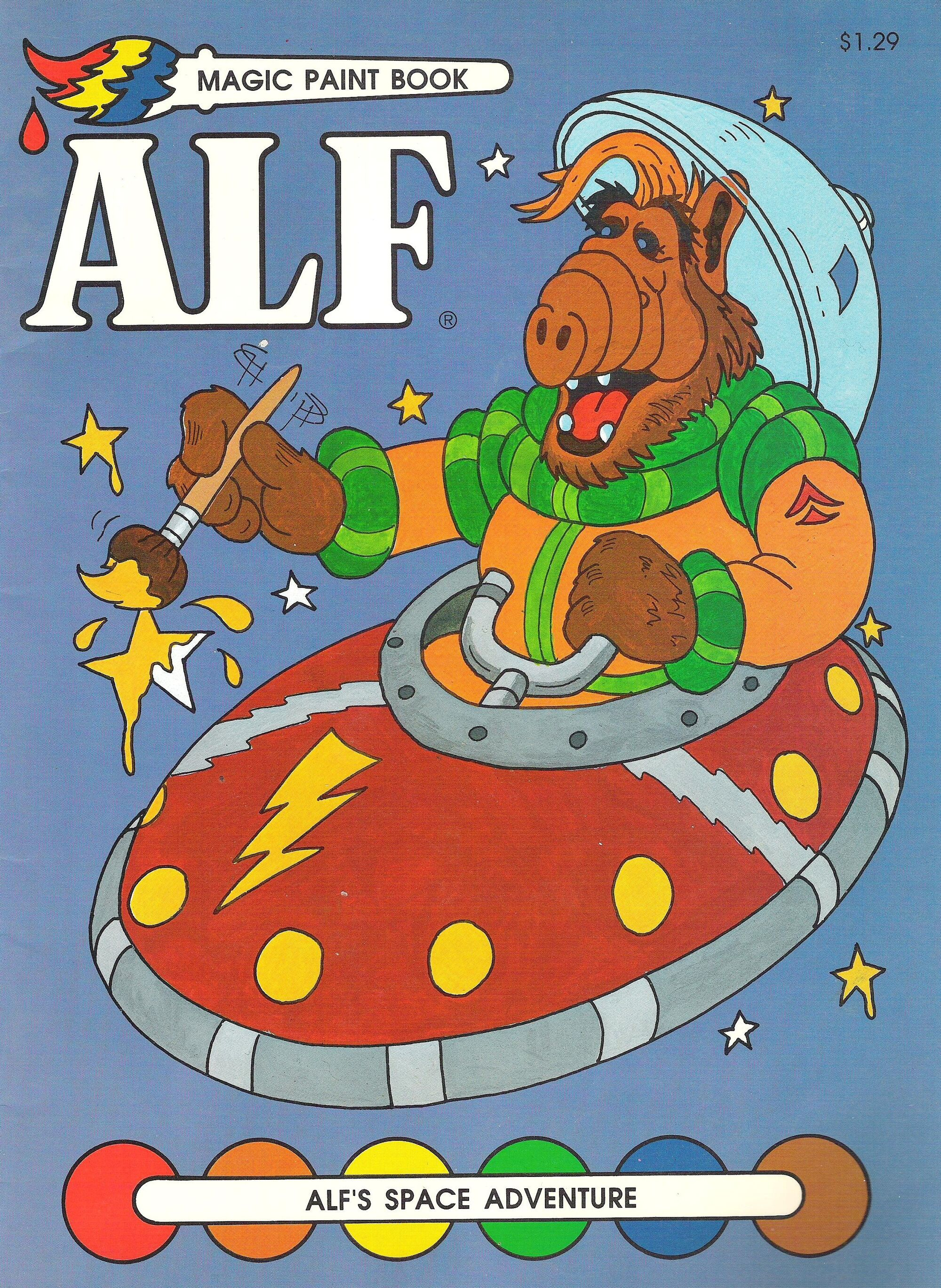 ALF 39 s Space Adventure ALF Wiki