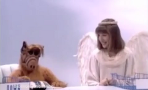 Blossom - ALF is guardian to the gates of Heaven in Blossom's dream