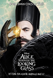 Alice Through the Looking Glass - promotional image - Time