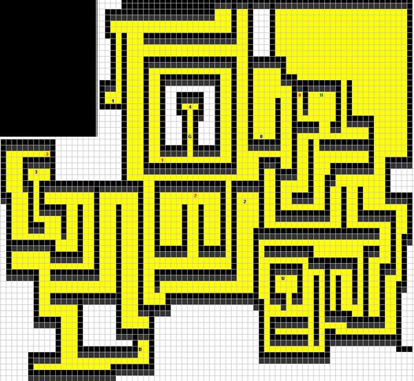Toushin Toshi - Map Floor 10