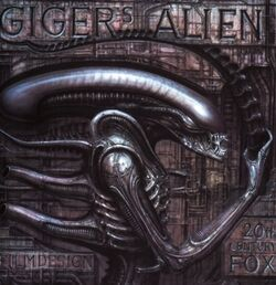Giger's Alien book cover