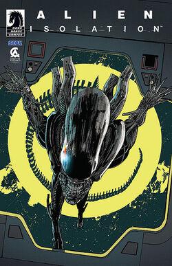 Alien Isolation comic cover