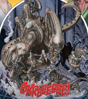 Jockey-Alien