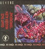 Giant Facehugger kenner comic