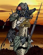 Predator Huntress by indyguy