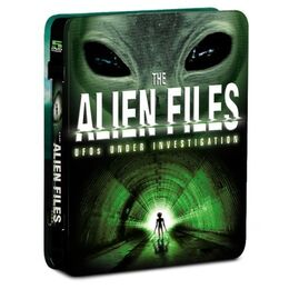 The Alien Files DVD set case