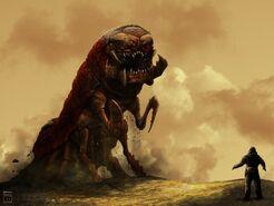 Alien bug monster by deepcore1-d3hoezb