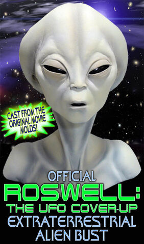 File:Roswell The UFO Cover Up Alien head bust.jpg