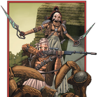 Sheelal and Kummar fighting the Huk