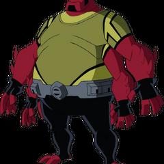 Gorvan a fat and short tetramand