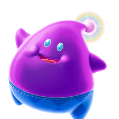 Lubba, a purple-skinned Luma