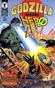 Godzilla vs. Hero Zero - Comic Cover.