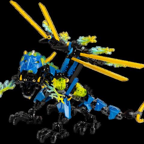 Dragon Bolt in toy form