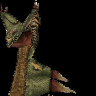 Anacondaur, a snake-like monster.