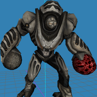 In-game model from Metroid Prime 2: Echoes.