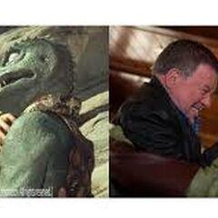 Gorn vs. Kirk (past and present)
