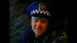 Suudor disguised as a Police Officer