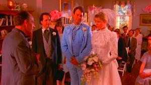 Celeste and Steven get married.