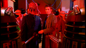 The Cult betrays Dalek Sec.