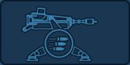 Sentry gun icon