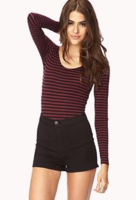 File:Bold Striped Bodysuit black shorts.jpg