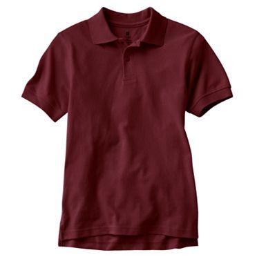 File:SHMS Uniform 8th grade Burgundy Short Sleeve top.jpg