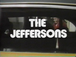 The Jeffersons opening title screen
