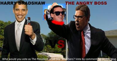 Angry Boss vs Harry Bradshaw