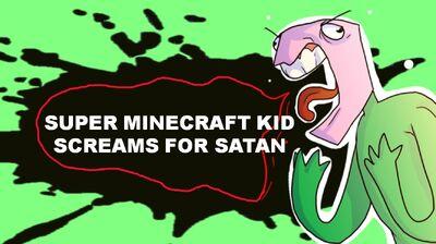 Super Minecraft Kid Intro New