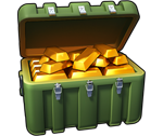 Big chest of gold