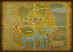 Uliana Princena map