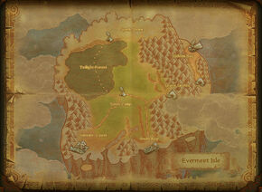 Map evermeet isle
