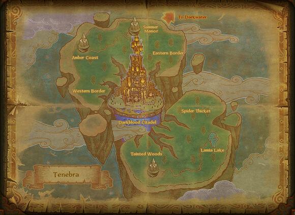 Map tenebra