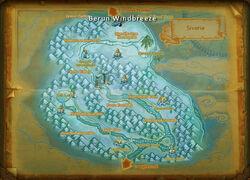 Berun Windbreeze map