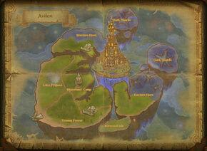 Map avilon